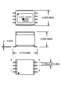 Standard Geometries – < 1 Watt